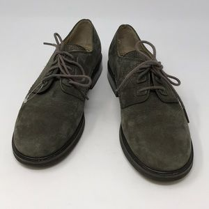 Rockport ladies or boys suede leather shoes